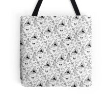 Cryptid Pattern (White Background)  Tote Bag