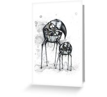 Skull Walkers Greeting Card