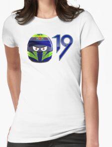 FELIPE MASSA_2014_HELMET Womens Fitted T-Shirt