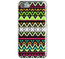 Neon Mix - Aztec Design iPhone Case/Skin