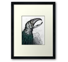 Crocjaw Framed Print