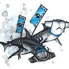 Katana Sharks by Kaitlin Beckett