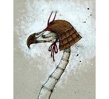 Samurai Bird Photographic Print