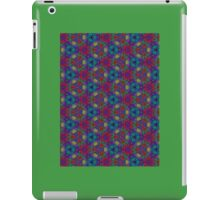 Green Chili Fire Quenched By Purple Blue Rush iPad Case/Skin