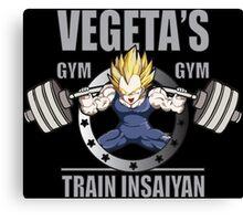 Vegeta's Gym Canvas Print