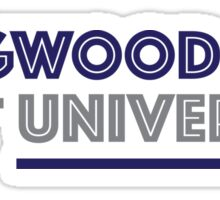 Longwood Simple Font Design Sticker
