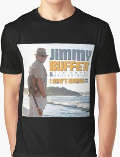 Jimmy Buffett The Coral & Reefer Band Tour 2016 Graphic T-Shirt
