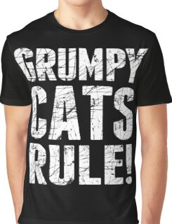 Grumpy Cats Rule! Graphic T-Shirt