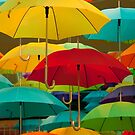 It's raining umbrella's. by Adam1965