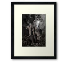 Flying foe Framed Print