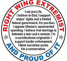 Right Wing Extremist by morningdance