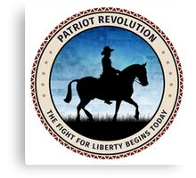 Patriot Revolution Canvas Print