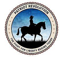 Patriot Revolution Photographic Print