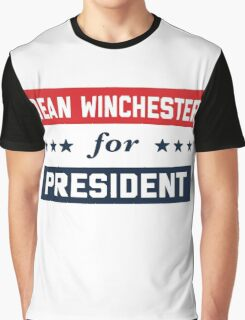 Dean Winchester For President Graphic T-Shirt