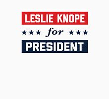Leslie Knope For President 2016 Women's Fitted Scoop T-Shirt