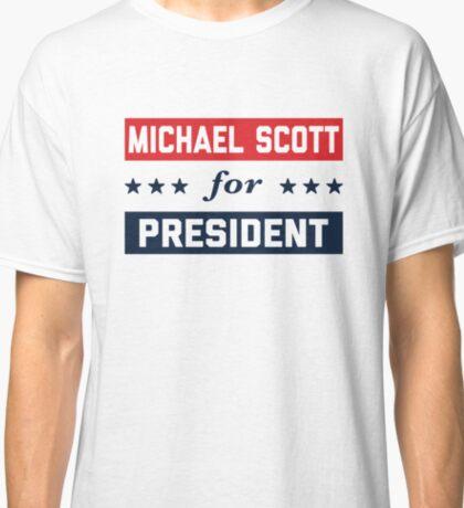 Michael Scott For President Classic T-Shirt