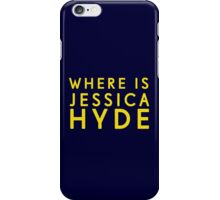 'Where is Jessica Hyde' from Channel 4's Utopia  iPhone Case/Skin