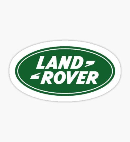 Land Rover Logo Sticker