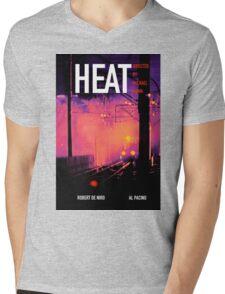 HEAT 10 Mens V-Neck T-Shirt