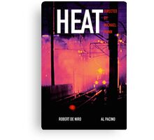 HEAT 10 Canvas Print