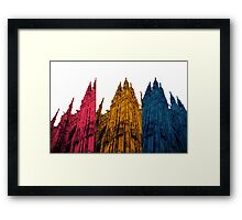 Tricolor Castle Framed Print