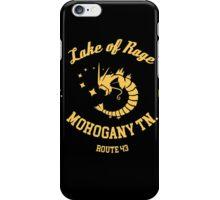 Lake of Rage - Red Gyarados iPhone Case/Skin