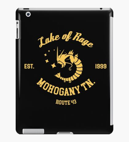 Lake of Rage - Red Gyarados iPad Case/Skin