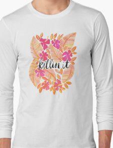 Killin' It – Melon Ombré Long Sleeve T-Shirt