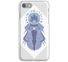 White Diamond Cave Painting iPhone Case/Skin
