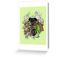 Chicago Hockey  Greeting Card