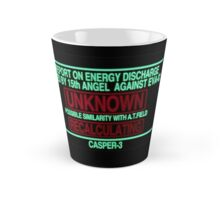 Neon Genesis Evangelion Warning Tall Mug