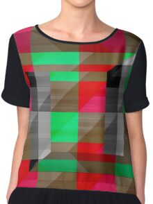 Stained Glass Impressions Chiffon Top