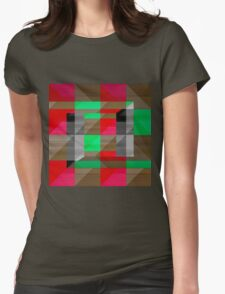 Stained Glass Impressions Womens Fitted T-Shirt