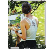 """""""Artist at work"""" iPad Case/Skin"""