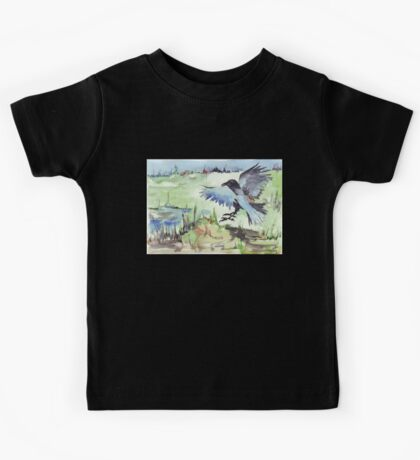 The Stately Raven - Coco Kids Tee