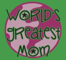 World's greatest mom Baby Tee