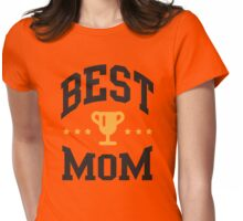 Best mom Womens Fitted T-Shirt