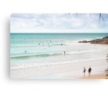 Little Cove Greys Canvas Print