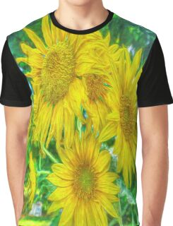 Garden Gold Graphic T-Shirt