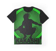 Silhouette Kakashi Graphic T-Shirt