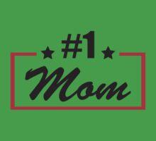 #1 mom Baby Tee