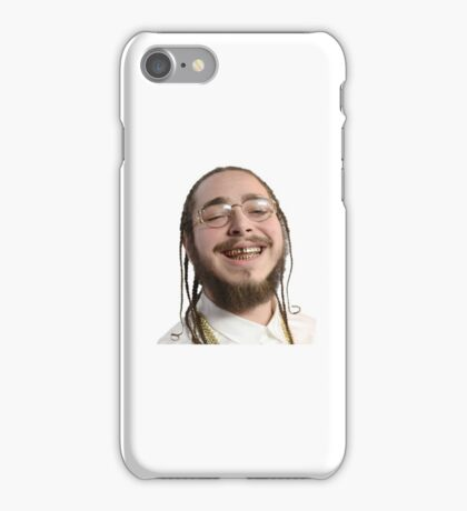 Post Malone white Iverson iPhone Case/Skin