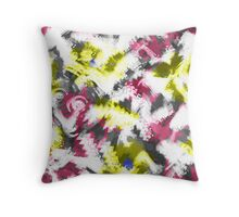 Abstraction. Drawing watercolor. The digital pattern. Throw Pillow