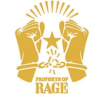 PROPHETS OF RAGE  tour 2016 - limited edition art Photographic Print