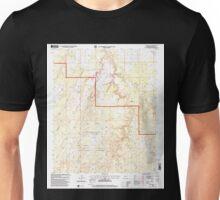 USGS TOPO Map Arizona AZ Red Knoll 313056 1998 24000 Unisex T-Shirt