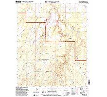 USGS TOPO Map Arizona AZ Red Knoll 313056 1998 24000 Photographic Print
