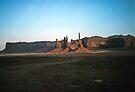 Monuments in Monument Valley, Utah,  USA by nealbarnett
