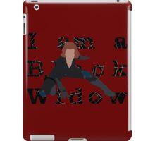 I am a Black Widow (Ver 2) iPad Case/Skin