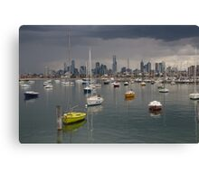 Colour of Melbourne 2 Canvas Print