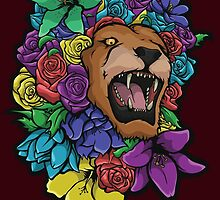 Lion Bouquet by BenNoble